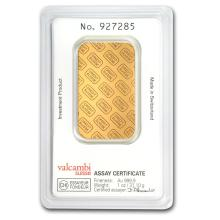One 1 oz Gold Bar - Credit Suisse (In Assay) - WJA11950