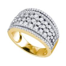10K Yellow Gold Jewelry 1.26 ctw Diamond Ladies Ring - ID#R78L2-WGD73563