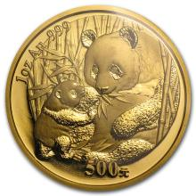 One 2005 China 1 oz Gold Panda BU (Sealed) - WJA4248