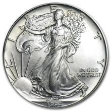 One 1994 1 oz Silver American Eagle BU