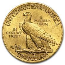One $10 Indian Gold Eagle AU (Random Years) - WJA4026