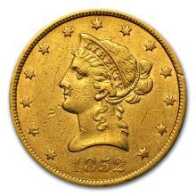 One 1852 $10 Liberty Gold Eagle XF - WJA66903