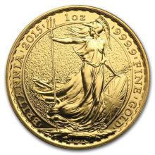 One 2015 Great Britain Gold 1 oz Britannia BU - WJA86220