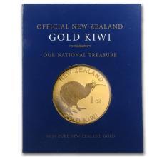 One New Zealand 1 oz Gold Kiwi .9999 (In Blue Assay Card) - WJA63972