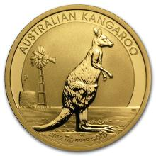 One 2012 Australia 1 oz Gold Kangaroo BU - WJA63863