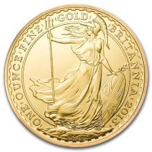 One 2013 Great Britain Gold 1 oz Britannia BU - WJA72696