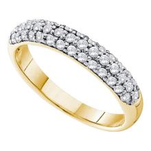 14K Yellow Gold Jewelry 0.53 ctw Diamond Ladies Ring - GD#38797 - REF#K51M6