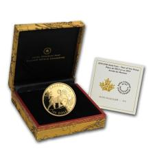 One 2015 Canada Gold $150 Lunar Year of the Sheep Prf (w/Box & COA) - WJA84509