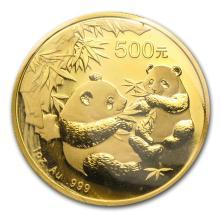 One 2006 China 1 oz Gold Panda BU (Sealed) - WJA11957
