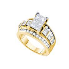 Genuine 3.0 CTW Diamond Ladies Ring 14KT Yellow Gold - GD56575-REF#504A2X