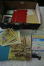 Three stamp albums containing a quantity of 20th century British and worldwide s