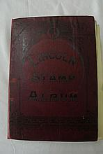A Lincoln Stamp Album containing a quantity of early European, Commonwealth and