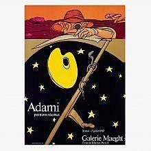 Valerio Adami Galerie Maeght poster