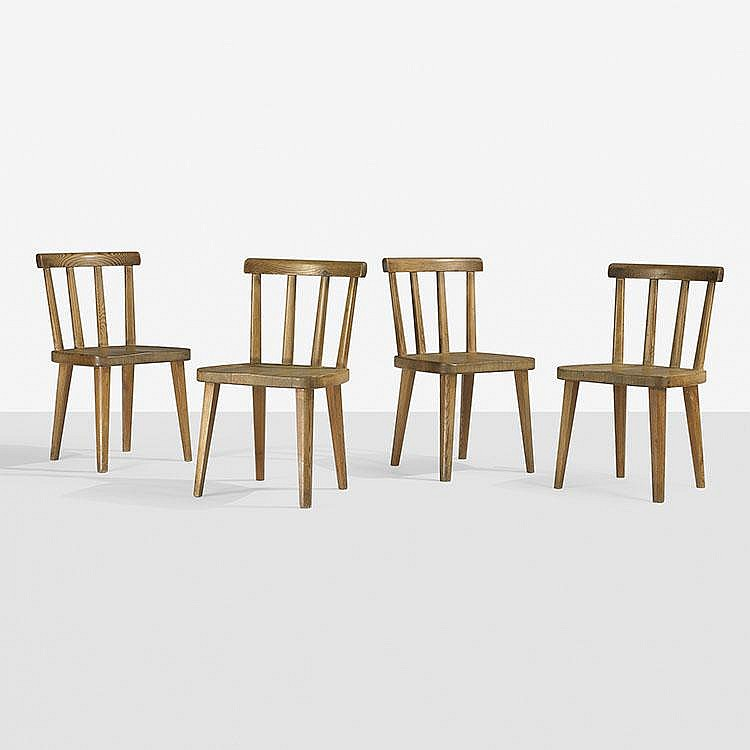Axel Einer Hjorth Utö chairs, set of four