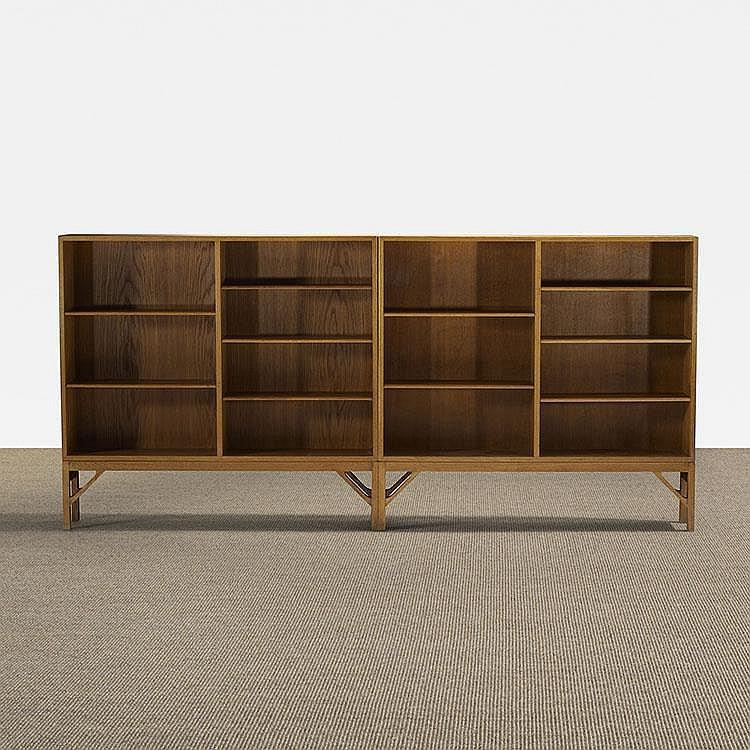 Børge Mogensen bookcases, pair