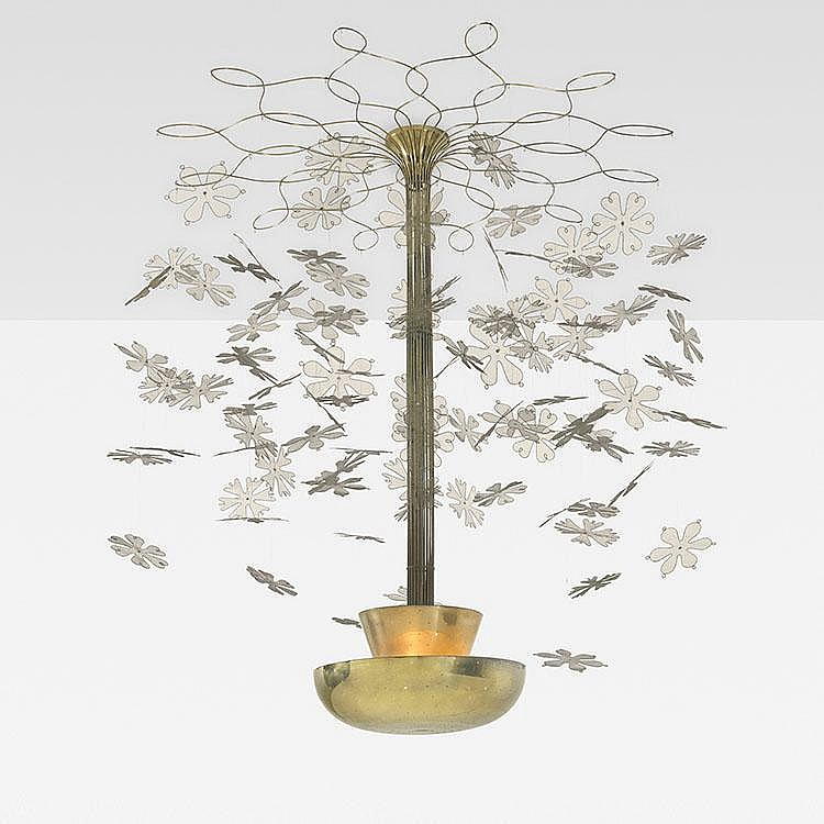 Paavo Tynell Important chandelier