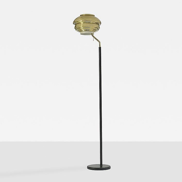 Alvar Aalto floor lamp, model A808