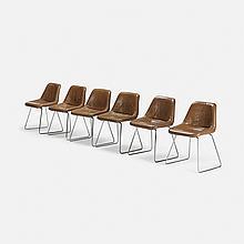 Jorge Zalszupin dining chairs, set of six
