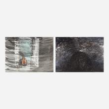 Toots Zynsky, Untitled and Storm on the Mountain (two works)