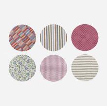 Alexander Girard collection of six fabrics