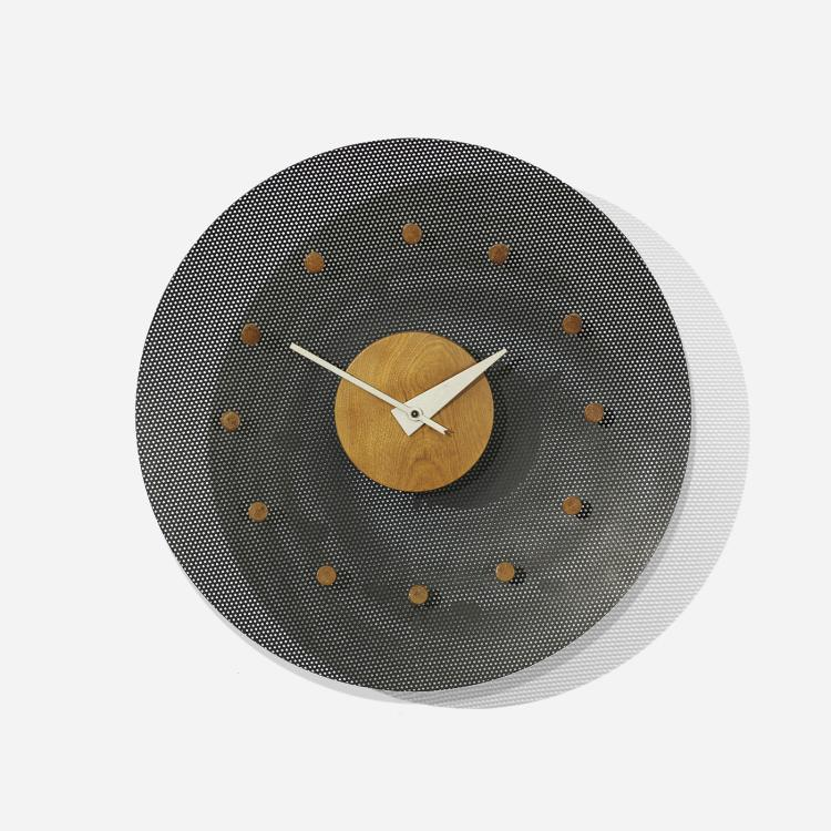 George nelson associates wall clock model 2204b for Nelson wall clock