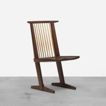 George Nakashima Conoid dining chair