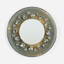 Max Ingrand rare illuminated mirror, model 2044