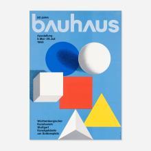 Herbert Bayer Bauhaus exhibition poster