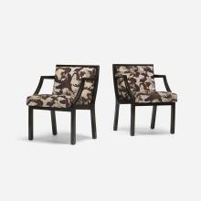Edward Wormley chairs model 6005, pair
