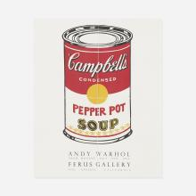 After Andy Warhol exhibition poster