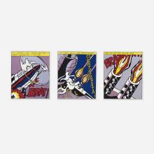 Roy Lichtenstein As I Opened Fire poster