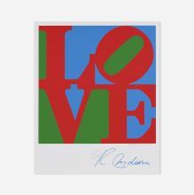 Robert Indiana Sky Love poster
