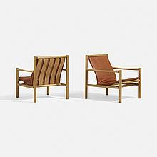 Jorgen Nilsson, lounge chairs, pair