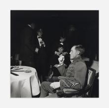 Larry Fink Hungarian Ball, New York 1978