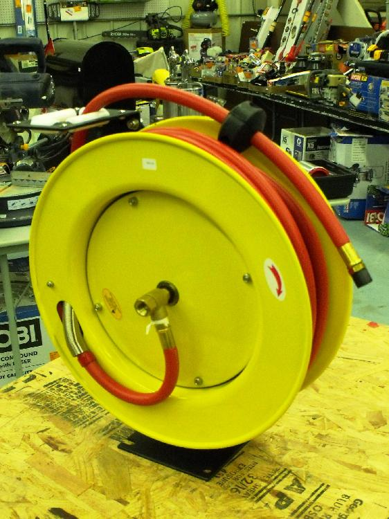 Amflo Retractable Air Hose Reel