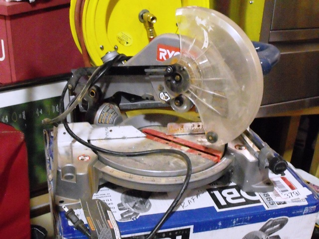 Ryobi 10'' Compound Miter Saw With Laser