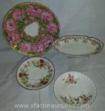 Assorted Vintage Plate, Saucer and dish