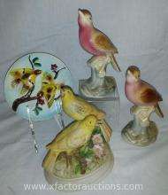 Vintage Gorham Bird Music Box & Other