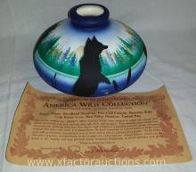 American Wild Collection Pottery Vase