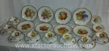 (16) PMR Taegar & Co. China Set & (8) Winnterling Plates
