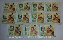 (11) Vintage S&H Green Stamps Books