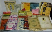 Large Assorted of Vintage Sheet Music