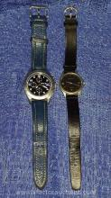 (2) Eddie Bauer Water Resistant Watches
