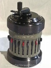Rare Curta Type II Vintage Calculator