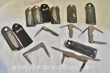 (9) Vintage Wilkinson Sword pocket knives