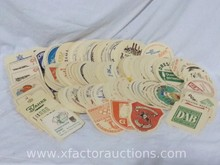 Assorted Vintage Paper German Beer/Beverage Coasters