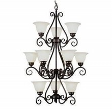 Trans Globe Lighting 12 Light Forged Iron Chandelier (New)