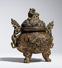 CENSER WITH MYTHOLOGICAL CREATURES