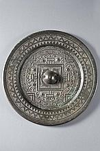 SMALL MIRROR WITH TLV MOTIFS