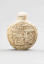 SNUFFBOTTLE WITH PALACE SCENES